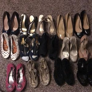 Various  high end shoes